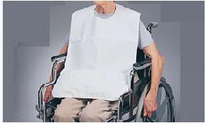 Babetes descartáveis (emb.500und) - Consumiveis - Vestuário descartável
