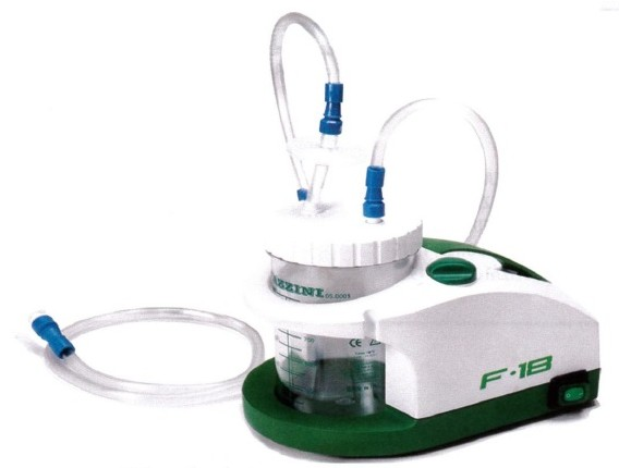 Aspirador  F18 - Aspiradores de secreções e Nebulizadores - Produtos Geriatria