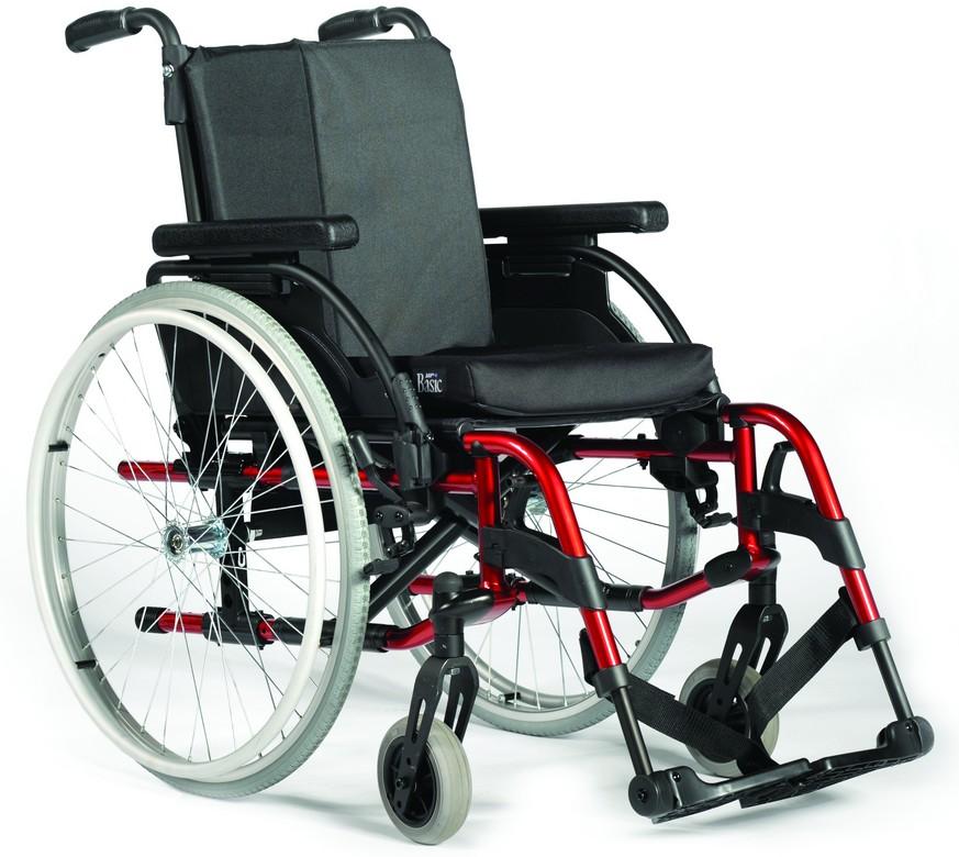 Cadeira de Rodas RUBIX 2 R24