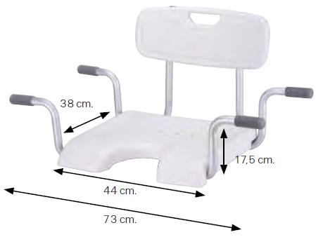 Cadeira de Apoio na Banheira - Ajudas Técnicas - Produtos Ortopedia