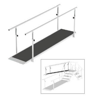 Escadas e Rampas Modulares - Fisioterapia - Reabilitação