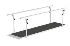 Barras Paralelas com Regulação de Largura - Fisioterapia - Reabilitação