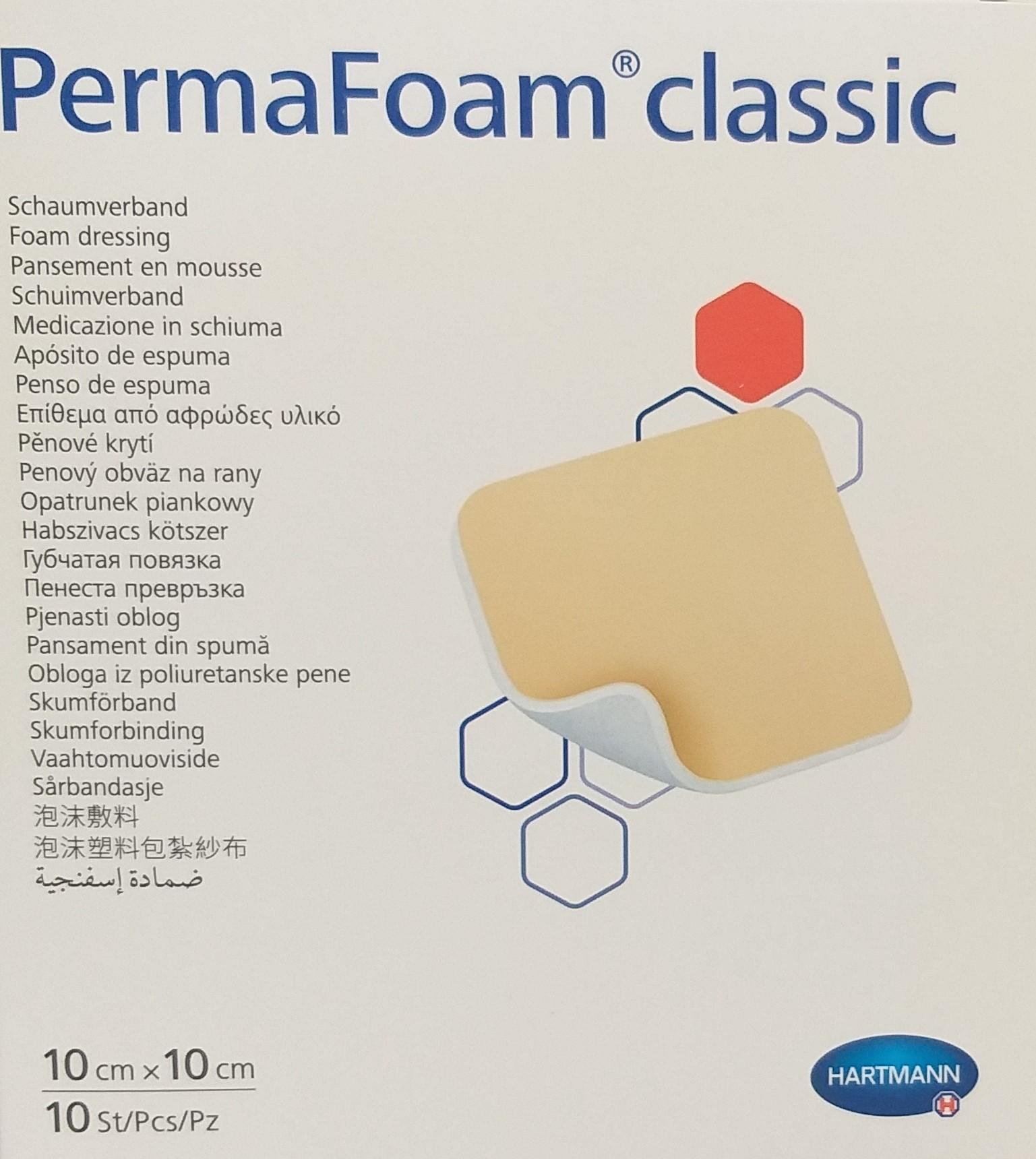 PermaFoam (10x10) - Material de Penso & Cicatrização