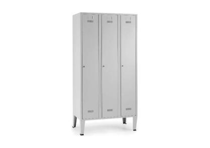 Armário vestiário triplo - Mobiliário - Produtos Geriatria