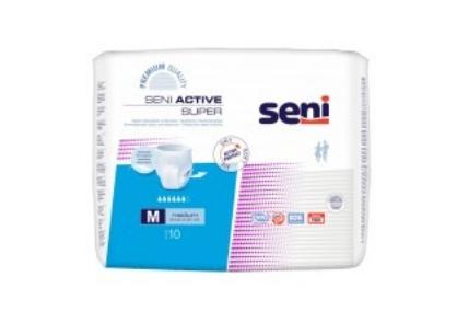 Cueca Fralda Adulto SENI Active - Consumiveis - Produtos Geriatria