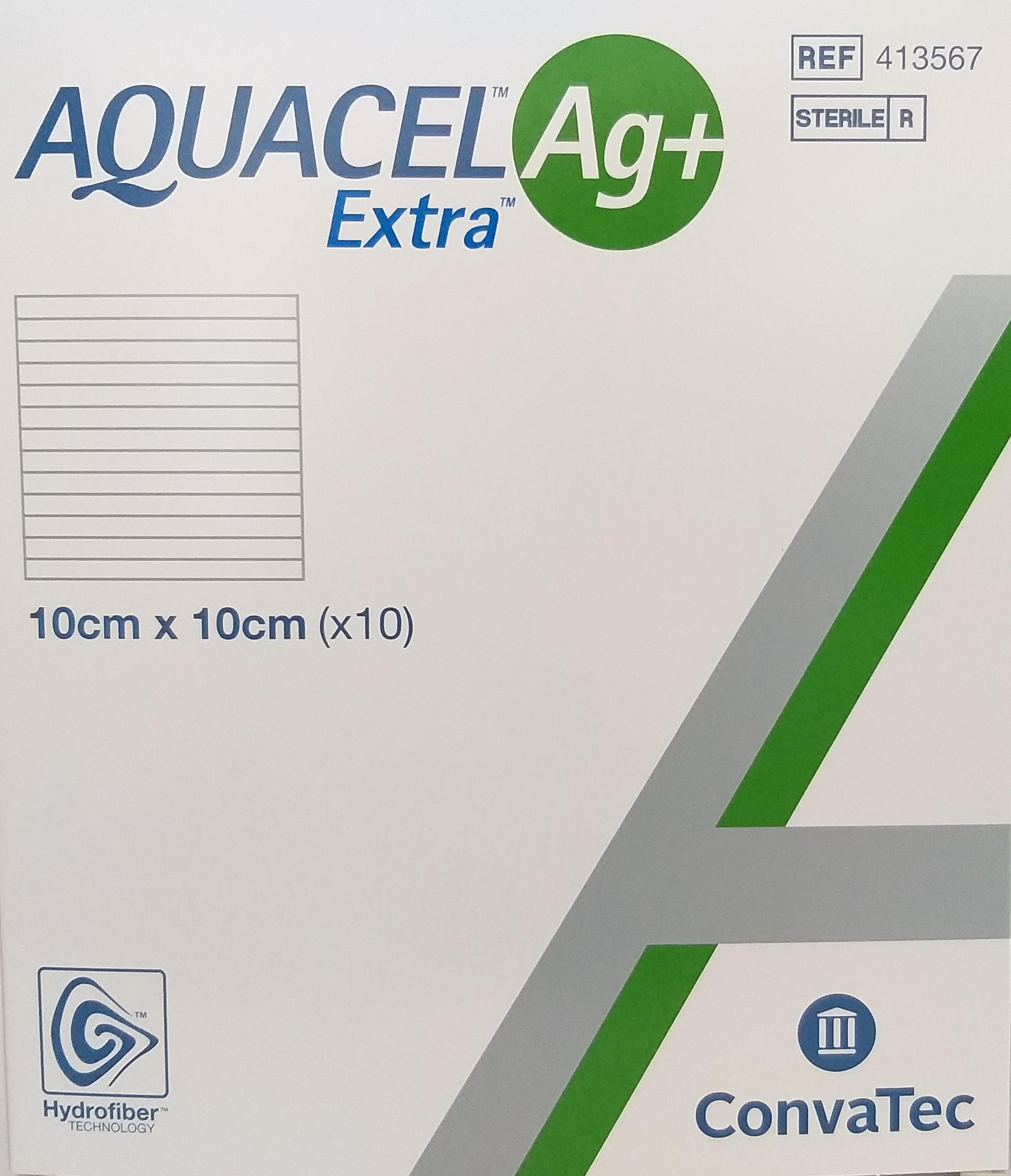 Aquacel Extra AG (10x10xm) - Material de Penso & Cicatrização
