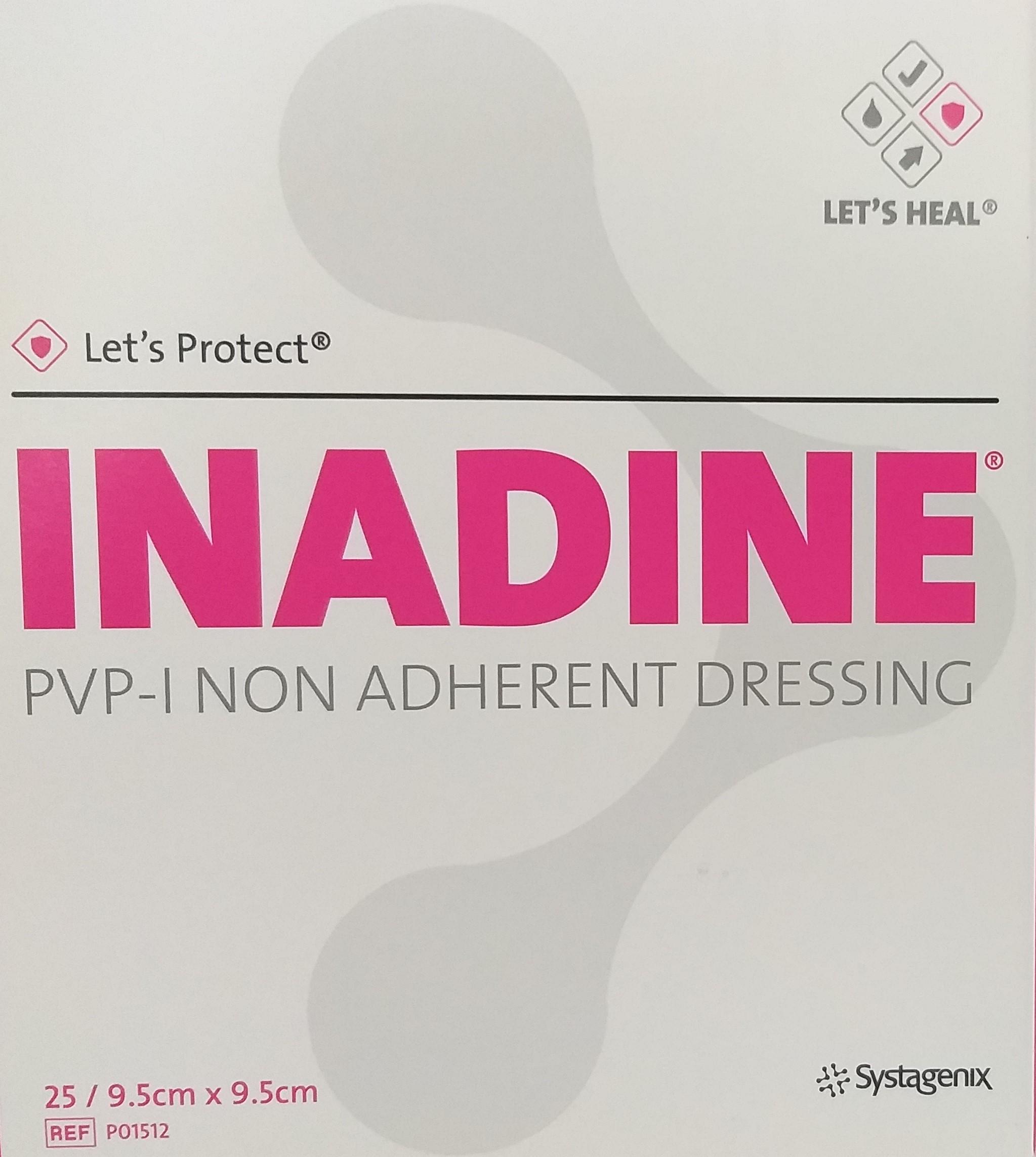Inadine Penso de Iodopovidona (9;5x9;5cm) - Material de Penso & Cicatrização