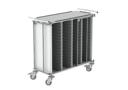 Carro de Transporte organizadores semanais - Mobiliário Hospitalar e Clinico