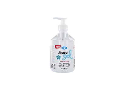 Álcool Gel 500mL (pack de 6) - Consumiveis - Desinfetantes e galénicos