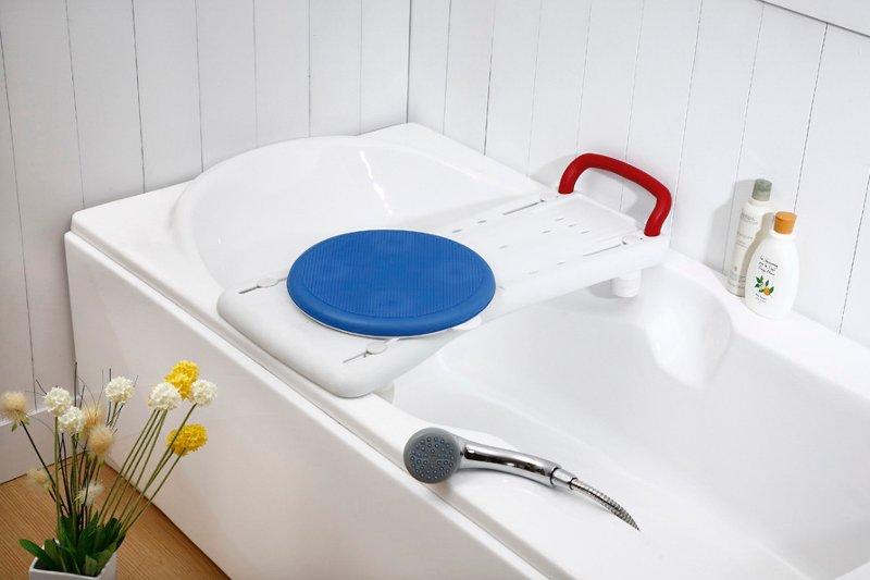 Prancha de Banheira com Disco Giratório - Ajudas Técnicas - Banho