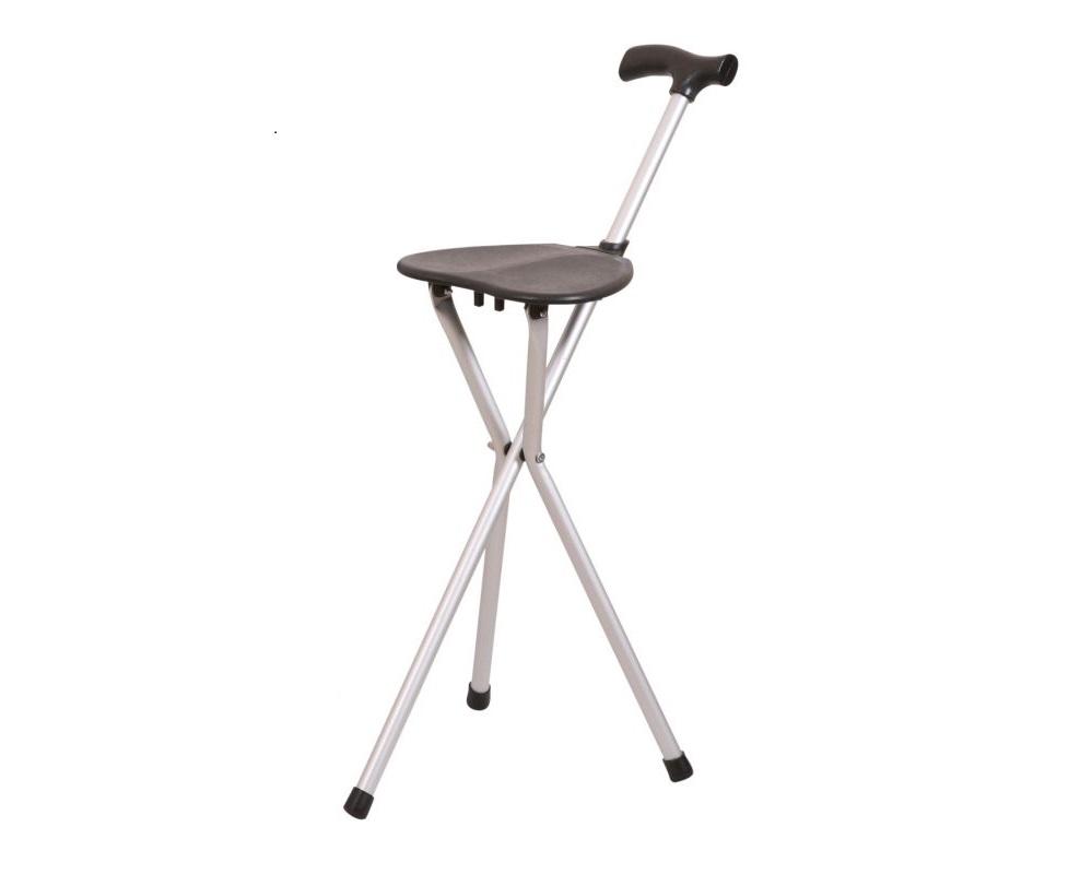 Bengala com assento em alumínio - Bengalas - Mobilidade