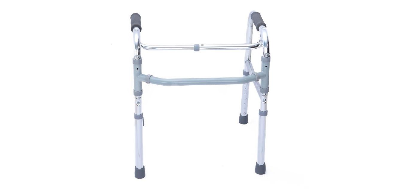 Andarilho dobrável de dupla função - Andarilhos - Produtos Ortopedia