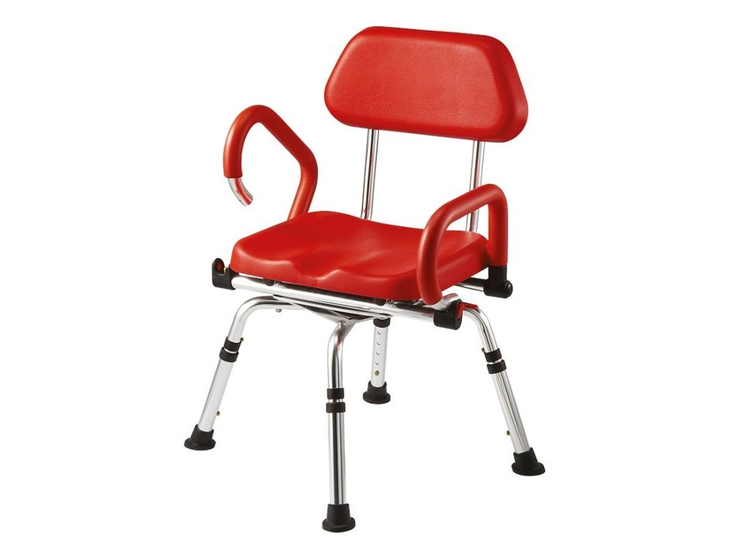 Cadeira de banho giratória acolchoada - Ajudas Técnicas - Produtos Ortopedia