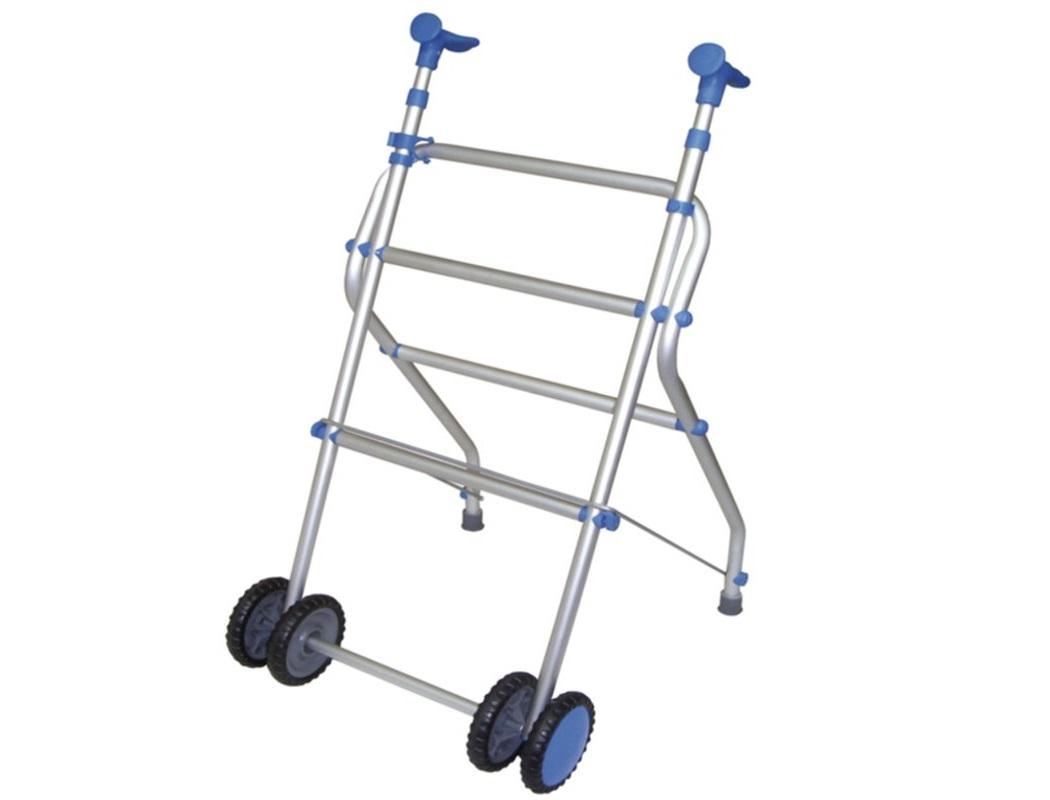 Andarilho em Alumínio com 2 Rodas - Andarilhos - Mobilidade