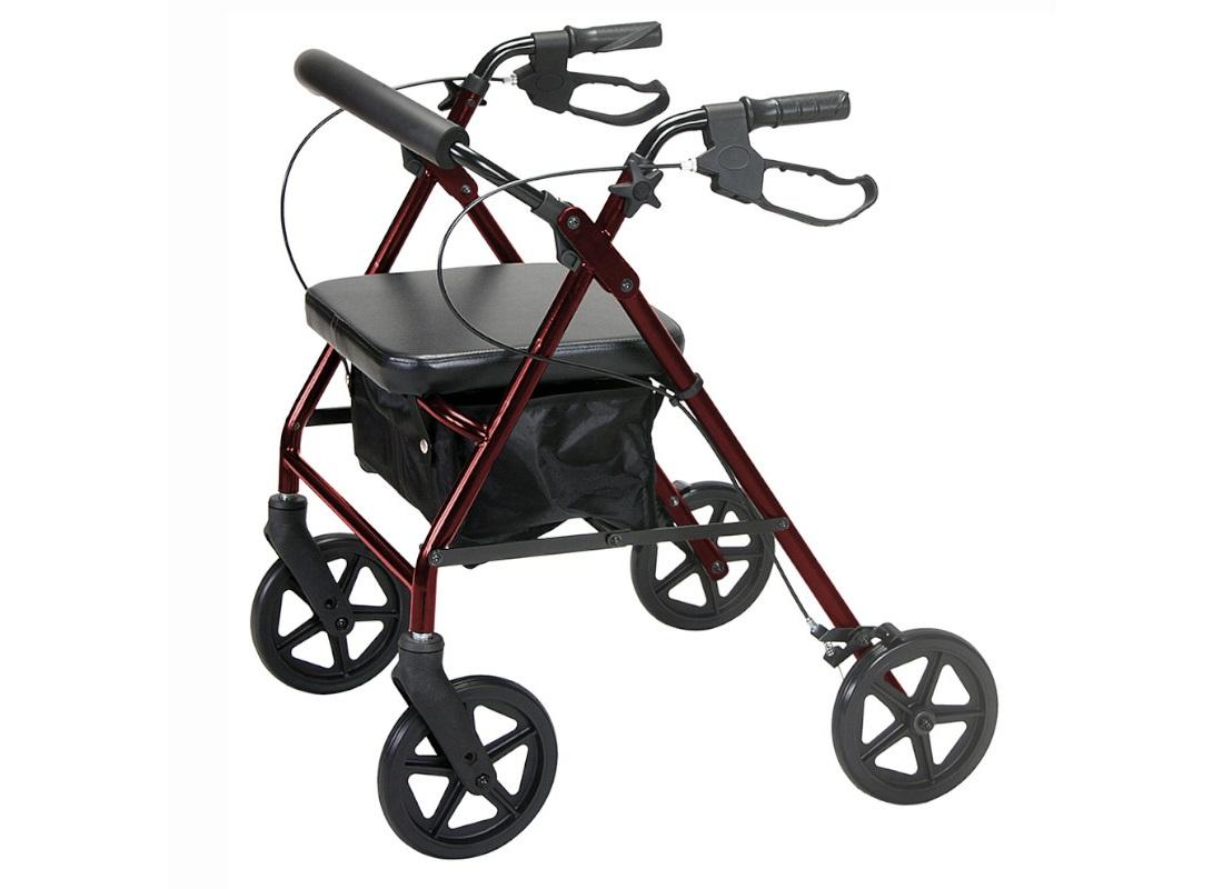 Andarilho com travão e bloqueio - Andarilhos - Mobilidade