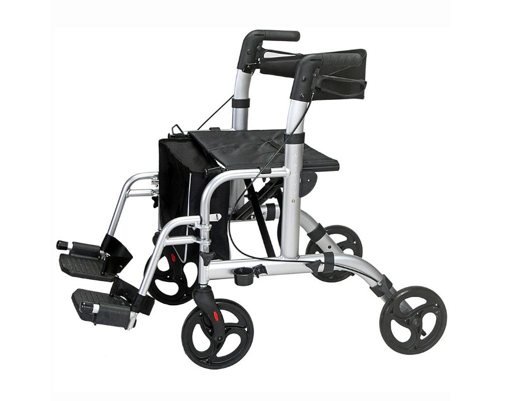 Andarilho e cadeira de rodas (2 em 1) - Ajudas Técnicas - Mobilidade