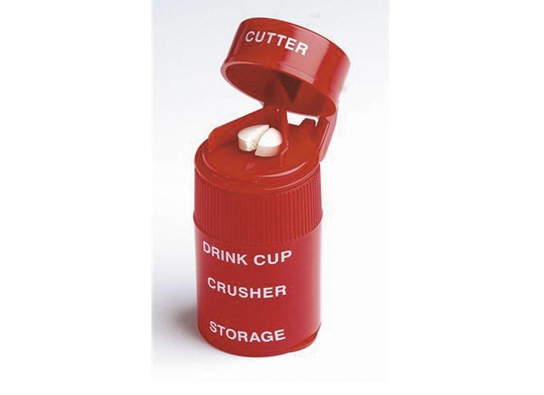 Triturador, cortador e caixa de comprimidos - Ajudas Técnicas - Medicação Unidose / Blisters de Medicação