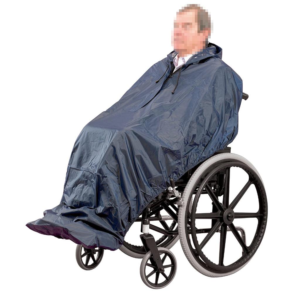 Capa de chuva impermeável sem mangas - Cadeiras de Rodas - Mobilidade