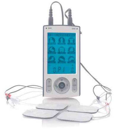 Estimulador  Elétrico 3 em 1: Tens - EMS - Massagem - Diversos - Eletromedicina