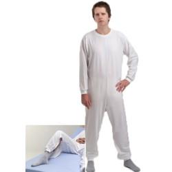 Pijama geriátrico de adulto com um fecho - Fardas - Vestuário e Texteis