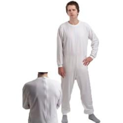 Pijama geriátrico de adulto com dois fechos - Fardas - Vestuário e Texteis