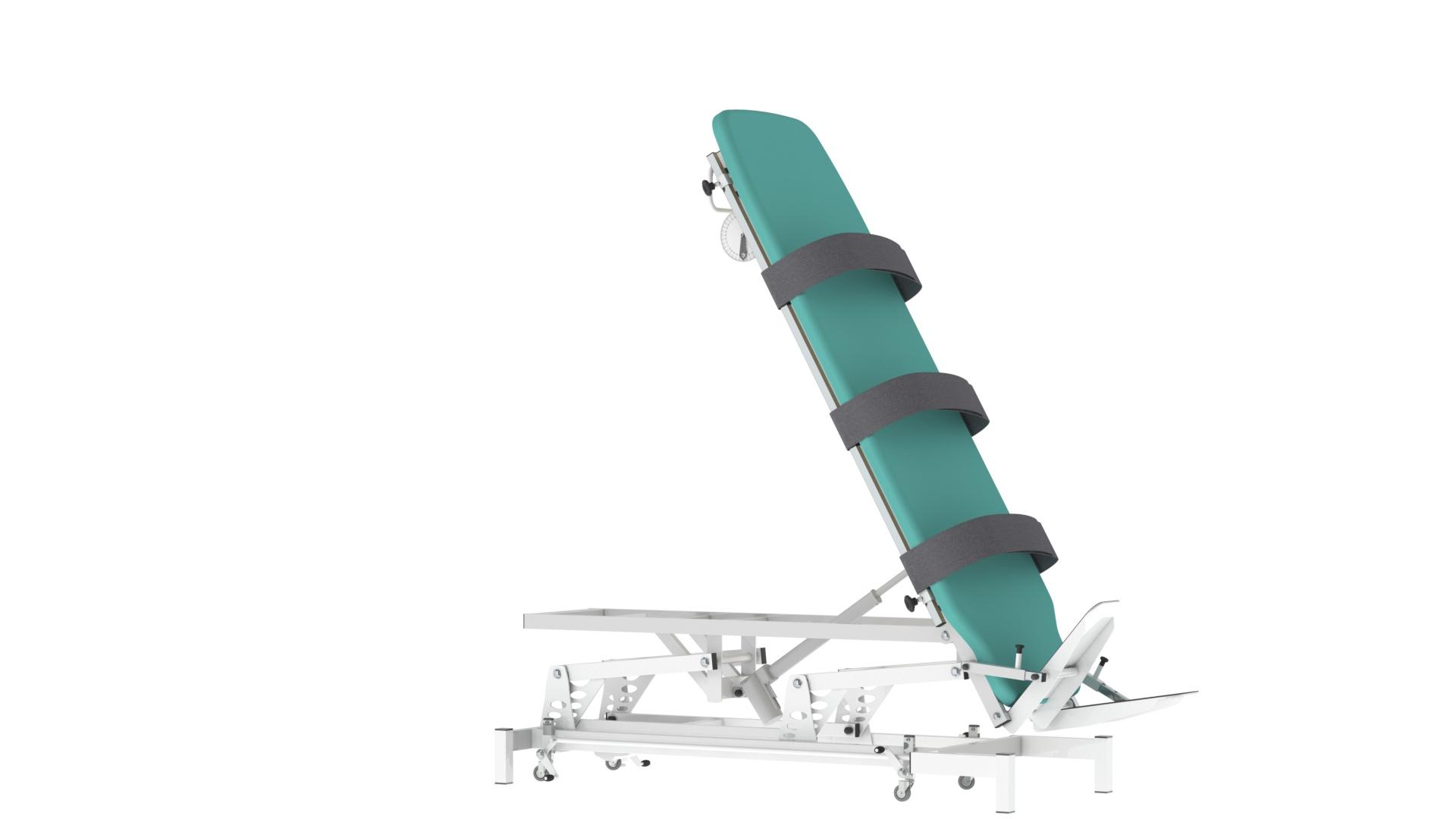 Plano Inclinado Elétrico Altura Variável (Mesa Verticalização) - Fisioterapia - Reabilitação
