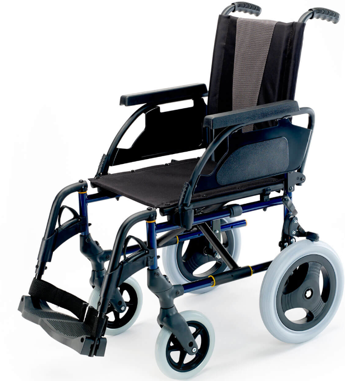 Cadeira de Rodas Breezy Premium R12 (Trânsito) - Cadeiras de Rodas - Produtos Ortopedia